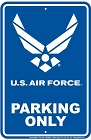Air Force Sm. Parking Sign