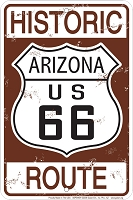 Historic AZ Route 66 Sm. Parking Sign