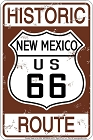 Historic 66 NM Sm. Parking Sign