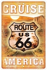 Route 66 Cruise Sm. Parking Sign