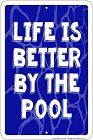 Better by the Pool Sm. Parking Sign