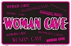Woman Cave Sm. Parking Sign
