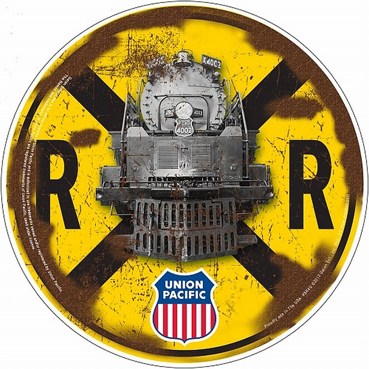 Union Pacific Round Sign