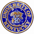 Kentucky Wildcats Round Sign