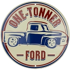Ford One Tonner Round Sign
