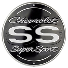 Chevy Super Sport Round Sign
