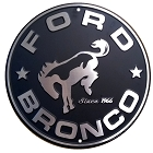 Ford Bronco Round Sign