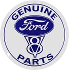 Ford Genuine Parts V8 Round Sign