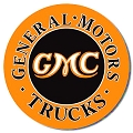 General Motors Truck Round Sign