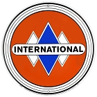 International Harvester Round Sign