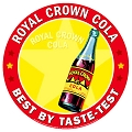 RC Cola Best By Taste Round Sign
