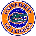 University of Florida Gators Round Sign