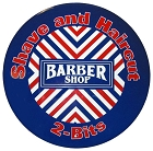 Barber Shop Round Sign
