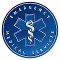 Emergency Medical Round Sign
