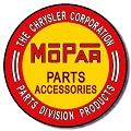 Dodge - Mopar Round Sign