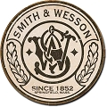 Smith & Wesson Logo Round Sign