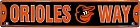 Baltimore Orioles Street Sign