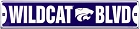 Kansas State - Wildcats Street Sign
