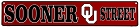 Oklahoma Sooners Street Sign