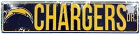 Los Angeles Chargers Dr Street Sign