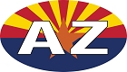AZ Flag Sticker
