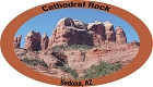 Arizona Cathedral Rock Sticker