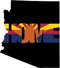 AZ Home Sticker