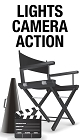 Lights Camera Action Sticker