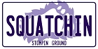 Squatchin' Large Sticker
