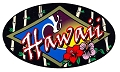 Hawaii - Flowers Sticker