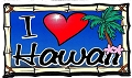 I Heart Hawaii Sticker