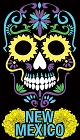 NM Sugar Skull Sticker