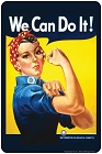 We Can Do It Large Sticker