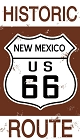 Route 66 NM Historic Sign Sticker