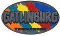 Gatlinburg TN Color Splash Sticker