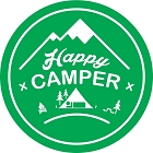 Happy Camper Large Sticker