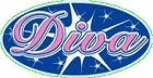 Diva - Small Sticker