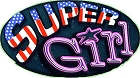 Super Girl Small Sticker