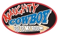 Naughty Cowboy Small Sticker