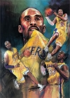 Kobe Bryant Collage Magnet