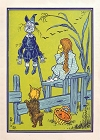Classic Wiz of OZ Dorothy and Scarecrow Magnet