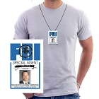FBI Redacted ID Necklace