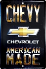 Chevy American Made Small Parking Sign