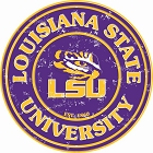 Louisiana State University 24 inch Large Round Sign