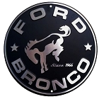 Ford Bronco 24 inch Large Round Sign