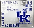 Kentucky Univ Fan Cloud College Sign