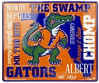 Florida Gators Fan Cloud College Sign