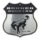 Bronco Country Highway Shield