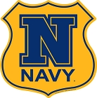 Navy N Highway Shield