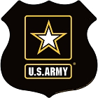 Army Star Highway Shield